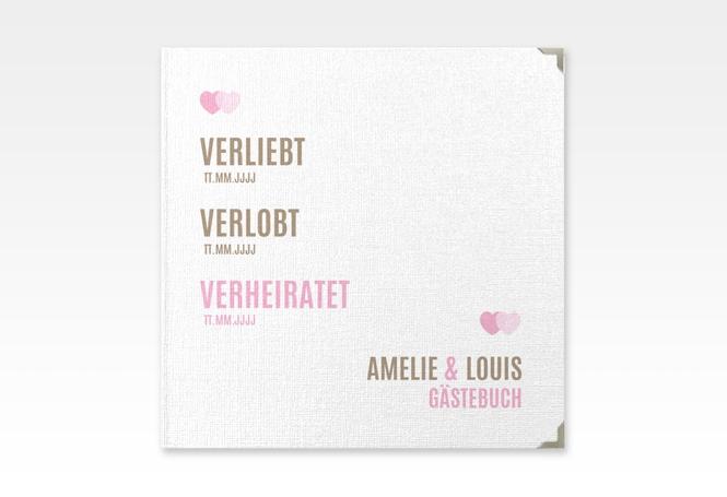 "Gästebuch Selection Hochzeit ""Couple"" Hardcover"