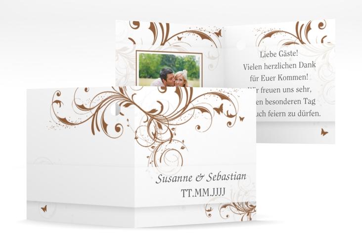 "Geschenkanhänger Hochzeit ""Palma"" Geschenkanhänger 10er Set"
