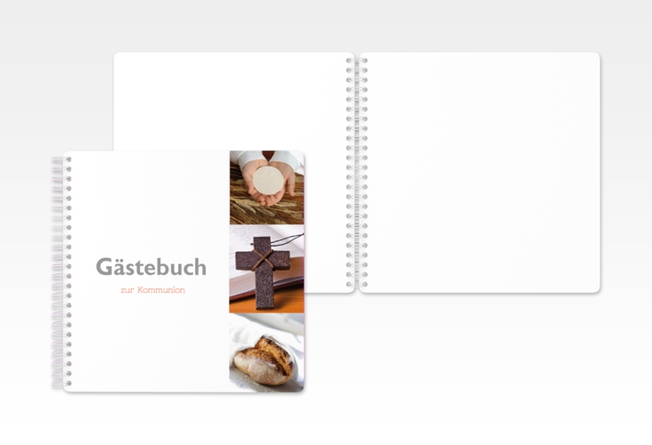 "Gästebuch Kommunion ""Tribus"" Ringbindung"