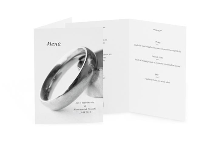 Menù matrimonio collezione Siviglia DIN A5 geklappt