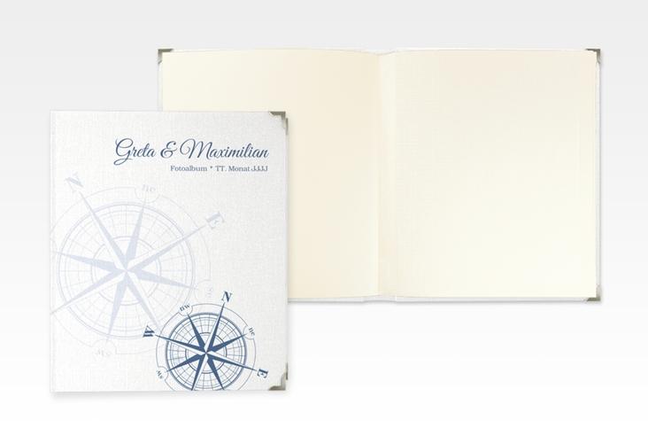 """Hochzeitsalbum """"Windrose"""" 21 x 25 cm"""
