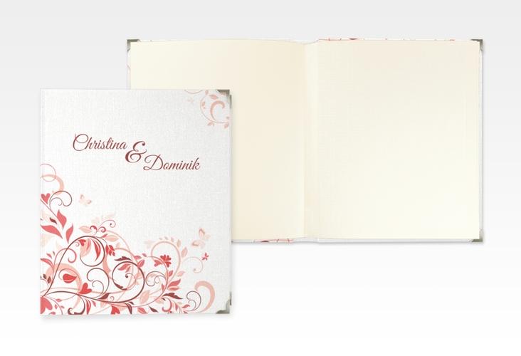 "Hochzeitsalbum ""Lilly"" 21 x 25 cm rot"