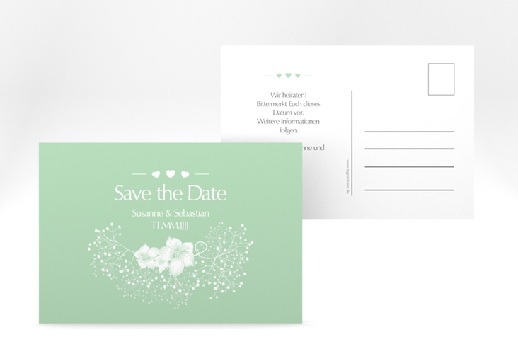 "Save the Date-Postkarte ""Jena"" A6 Postkarte mint"