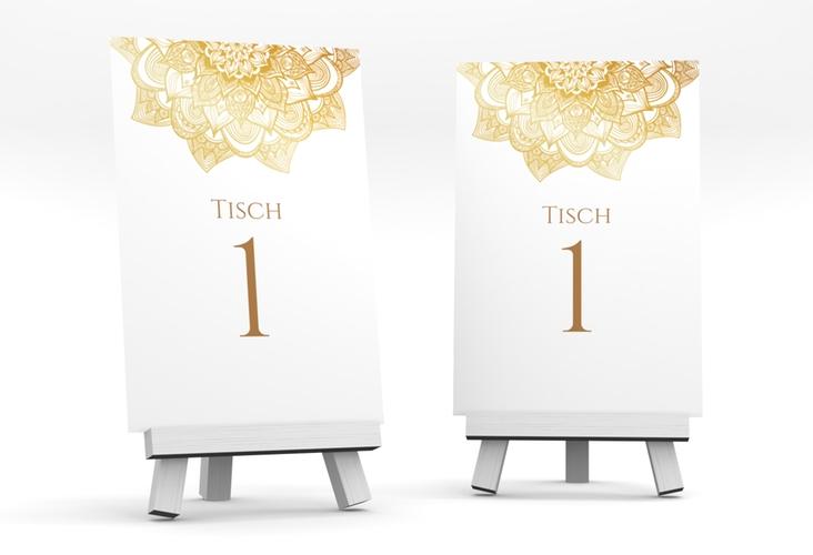 """Tischnummer Hochzeit """"Delight"""" Tischaufsteller"""