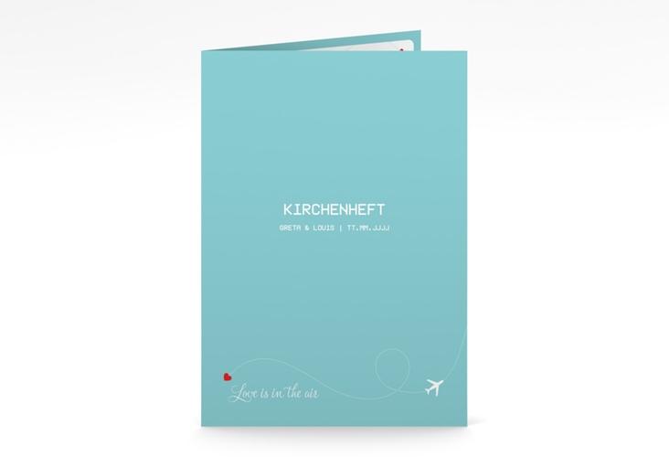 "Kirchenheft Hochzeit ""Weddingpass"" DIN A5 geklappt"