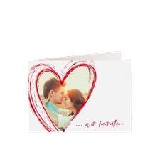 """Hochzeitseinladung """"Liebe"""""""