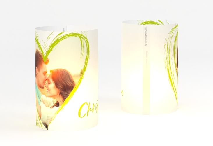 """Windlicht Hochzeit """"Liebe"""" Windlicht gruen"""