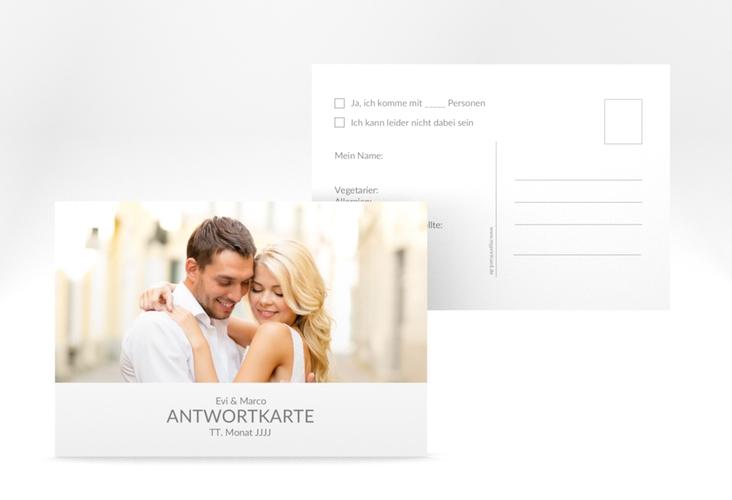 """Antwortkarte Hochzeit """"Vista"""" A6 Postkarte"""