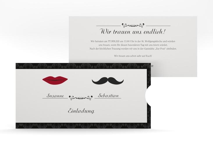 """Hochzeitseinladung """"Montpellier"""" Einsteckkarte"""
