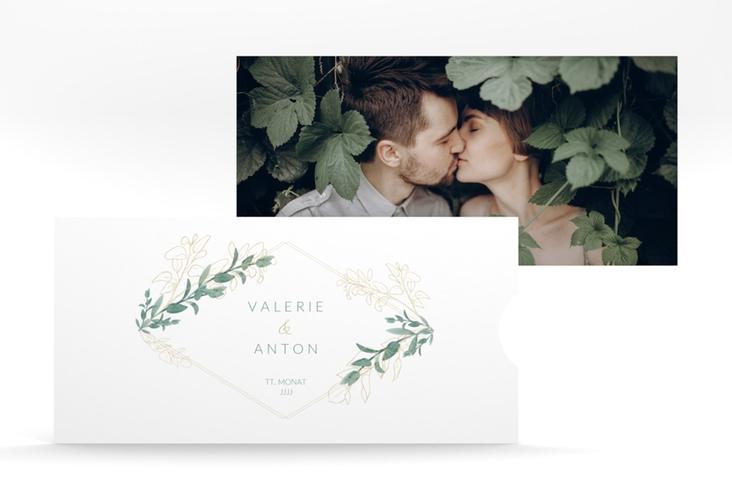 """Hochzeitseinladung """"Verde"""" Einsteckkarte"""