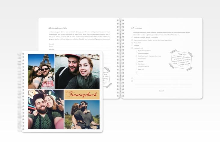 """Trautagebuch Hochzeit  """"Collage"""" Trautagebuch Hochzeit"""