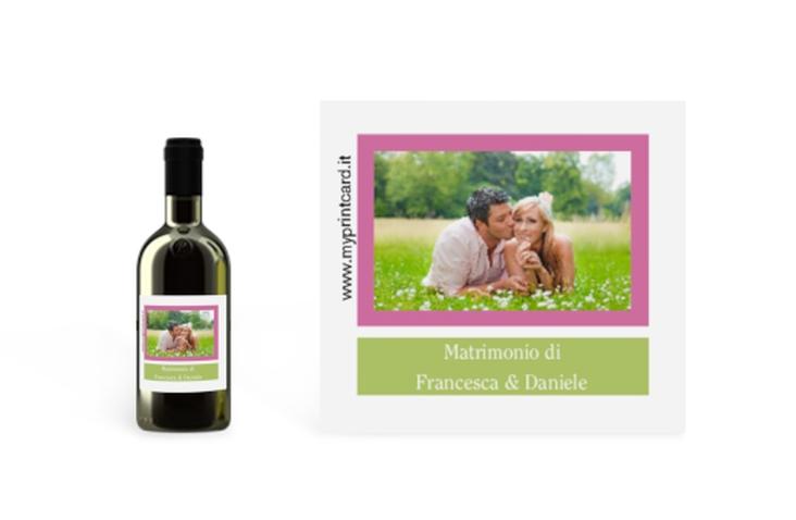 Etichette piccolo matrimonio collezione Nizza Etikett Piccolo