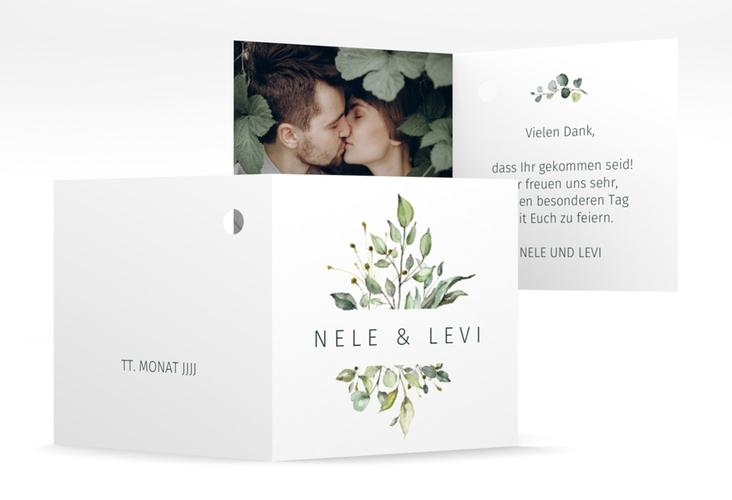 """Geschenkanhänger Hochzeit """"Enchanting"""" Geschenkanhänger 10er Set weiss"""