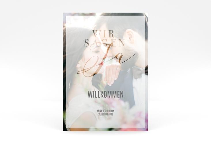 """Willkommensschild Poster """"Amazing"""" 50 x 70 cm Poster"""