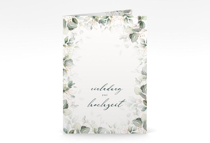 """Einladungskarte Hochzeit """"Poesia"""" A6 Klappkarte"""