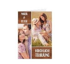 """Kirchenheft Hochzeit """"Landliebe"""""""