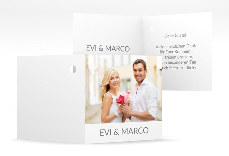 "Geschenkanhänger Hochzeit ""Vista"" Geschenkanhänger 10er Set weiss"