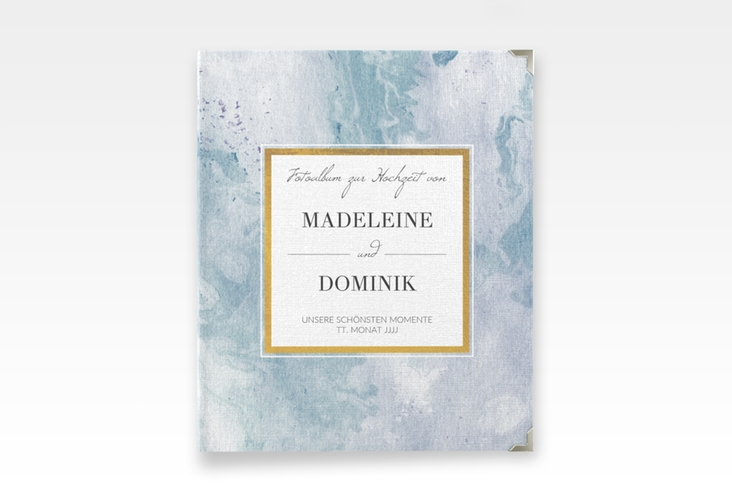 """Hochzeitsalbum """"Marble"""" 21 x 25 cm"""