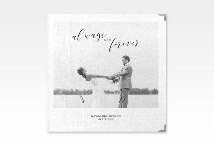 """Gästebuch Selection Hochzeit """"Photoframe"""" Leinen-Hardcover"""