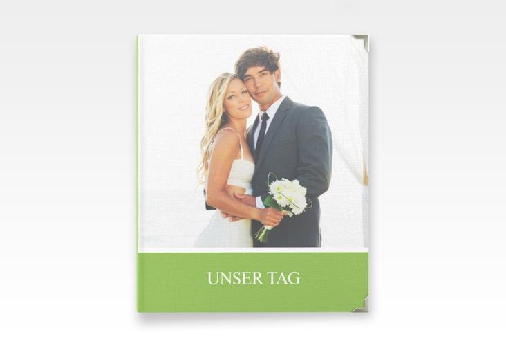"""Hochzeitsalbum """"Balance"""" 21 x 25 cm gruen"""
