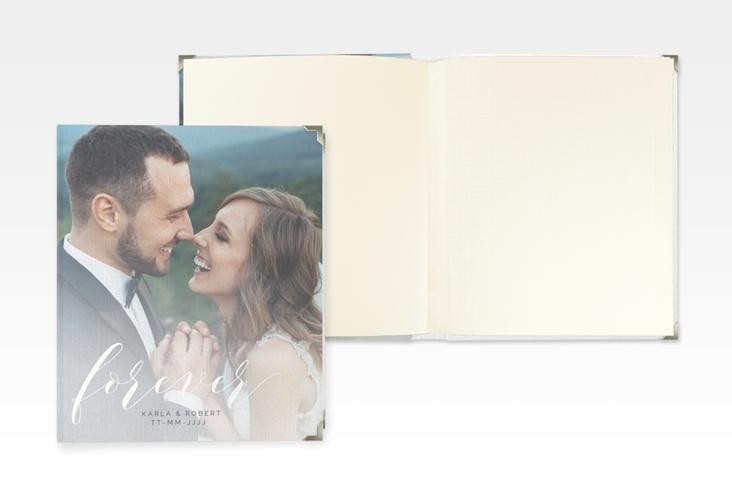 """Hochzeitsalbum """"Promise"""" 21 x 25 cm weiss"""