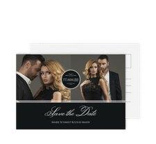 "Save the Date-Postkarte ""Elegancy"""