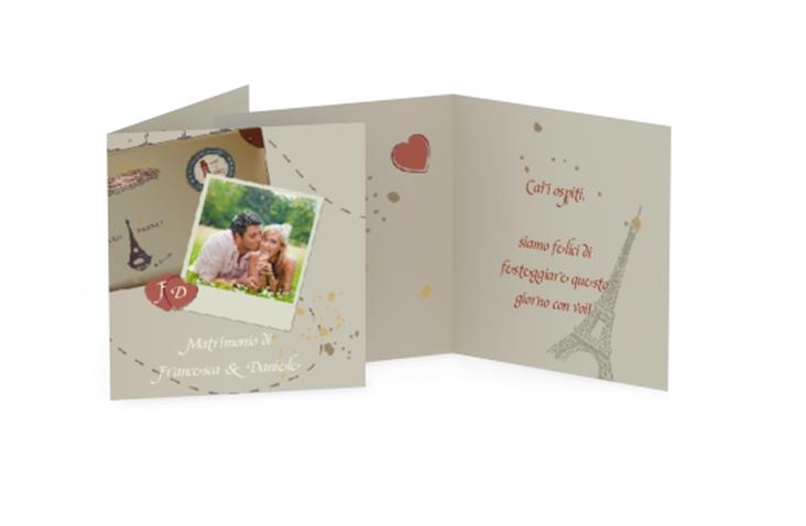 Biglietti Bomboniera matrimonio collezione Catania Geschenkanhänger 10er Set