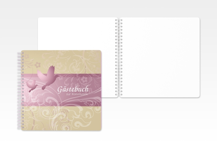 "Gästebuch Kommunion ""Columba"" Ringbindung"
