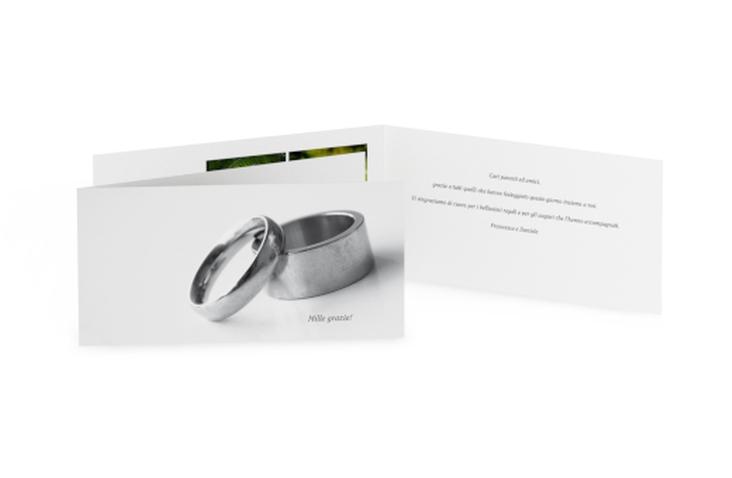 Ringraziamenti matrimonio collezione Siviglia DIN lang Klappkarte