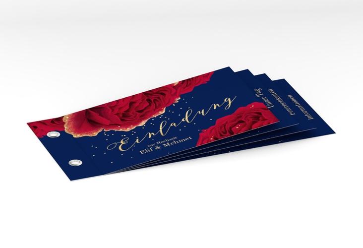 """Hochzeitseinladung """"Cherie"""" Booklet"""
