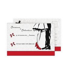 """Antwortkarte Hochzeit """"Straßburg"""""""