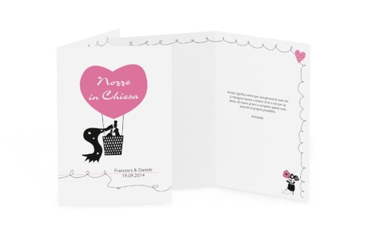 Libro messa matrimonio collezione Alicante DIN A5 geklappt