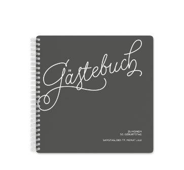 Gästebuch Für Die Geburtstagsfeier Myprintcard