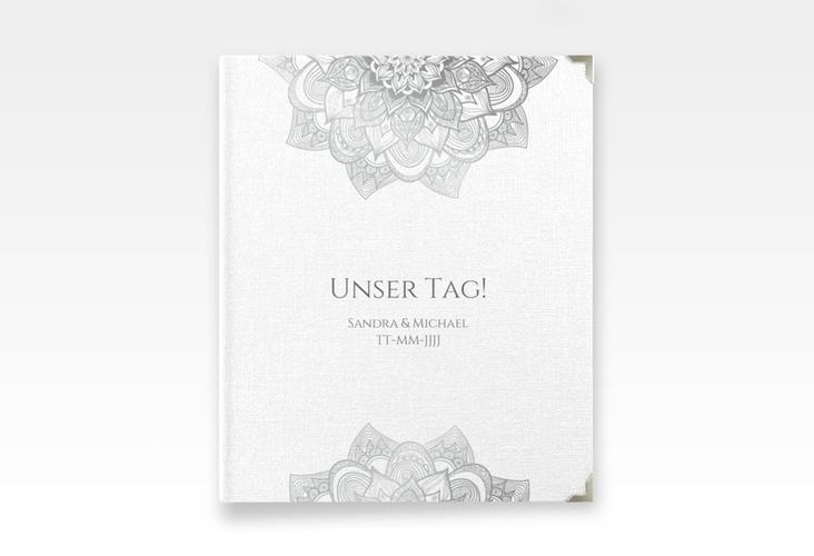 """Hochzeitsalbum """"Delight"""" 21 x 25 cm grau"""