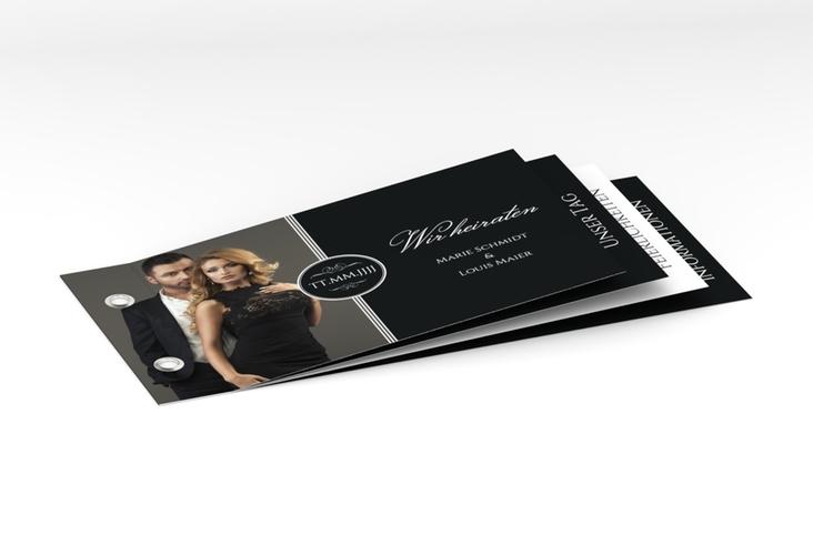 """Hochzeitseinladung """"Elegancy"""" Booklet"""