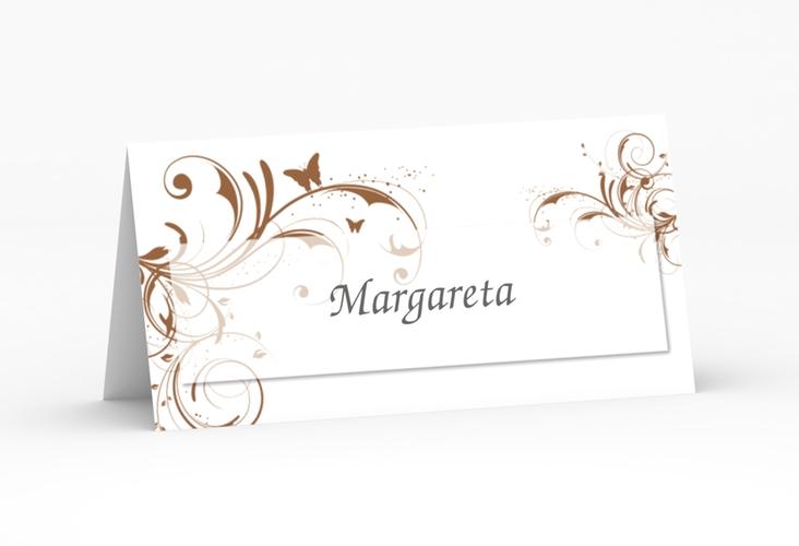 """Tischkarte Hochzeit """"Palma"""" Tischkarten"""