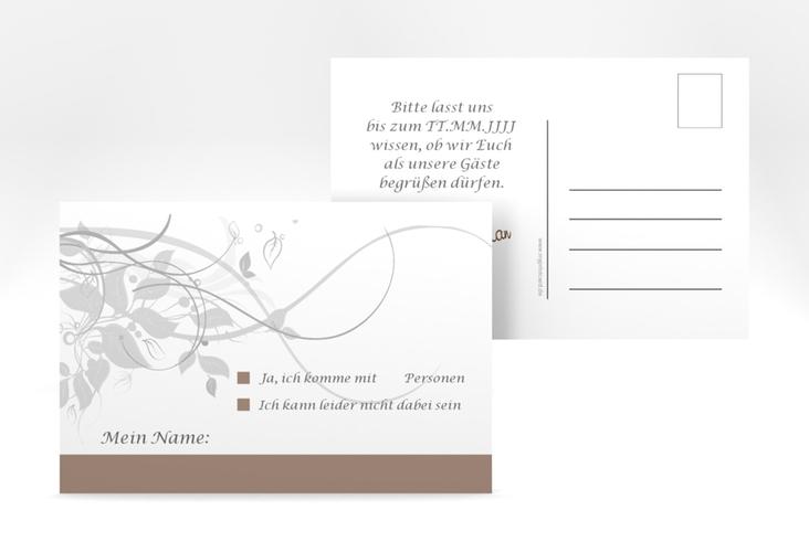 """Antwortkarte Hochzeit """"Florenz"""" A6 Postkarte"""