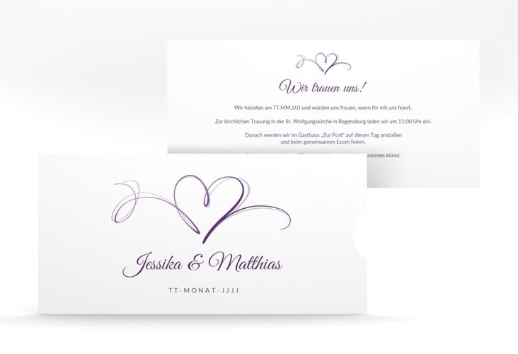 """Hochzeitseinladung """"Envie"""" Einsteckkarte"""