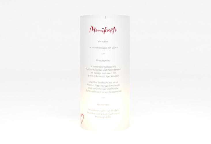 """Windlicht Menü Hochzeit """"Liebe"""" Windlicht"""