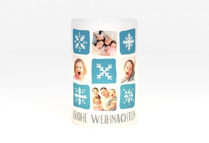 """Windlicht Weihnachten """"Snowflakes"""" Windlicht"""