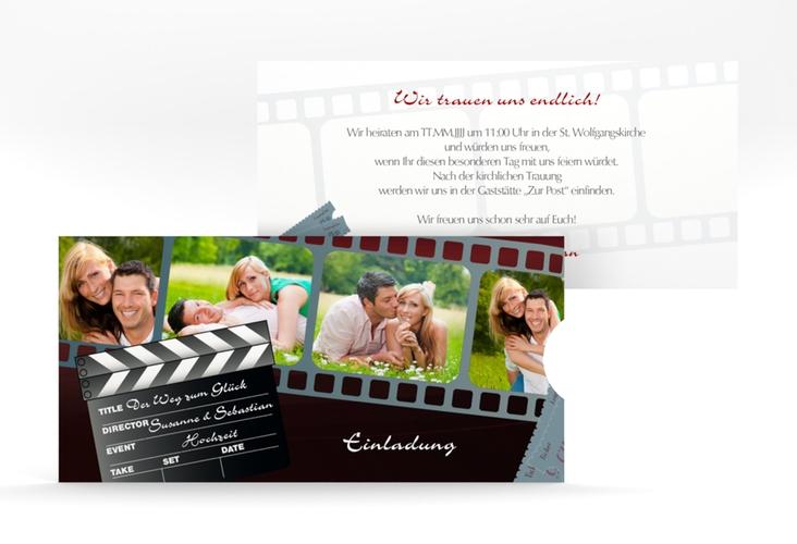 """Hochzeitseinladung """"Bottrop"""" Einsteckkarte"""