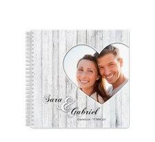 """Gästebuch Hochzeit """"Herz"""""""