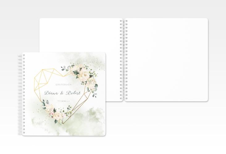 """Gästebuch Hochzeit """"Adore"""" Ringbindung"""