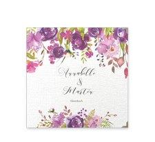 """Gästebuch Selection Hochzeit """"Violett"""""""