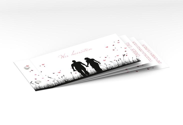 """Einladung Hochzeit """"Rouen"""" Booklet"""