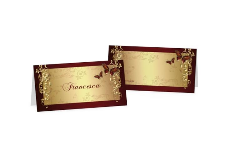 Segnaposti matrimonio collezione Tolosa Tischkarten
