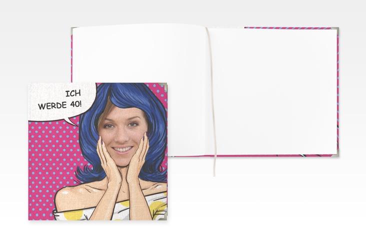 "Gästebuch Selection Geburtstag ""Popart Woman"" Hardcover"