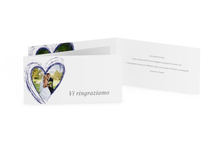 Ringraziamenti matrimonio collezione Tolone DIN lang Klappkarte
