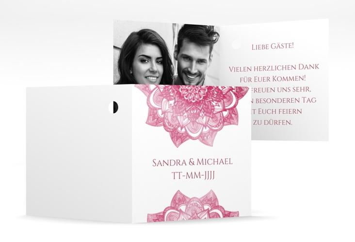 """Geschenkanhänger Hochzeit """"Delight"""" Geschenkanhänger 10er Set pink"""