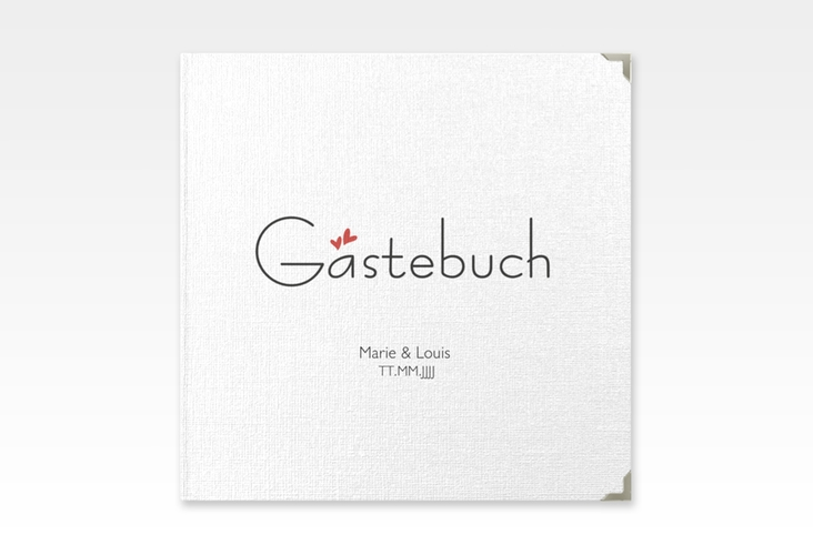 "Gästebuch Selection Hochzeit ""Twohearts"" Hardcover"